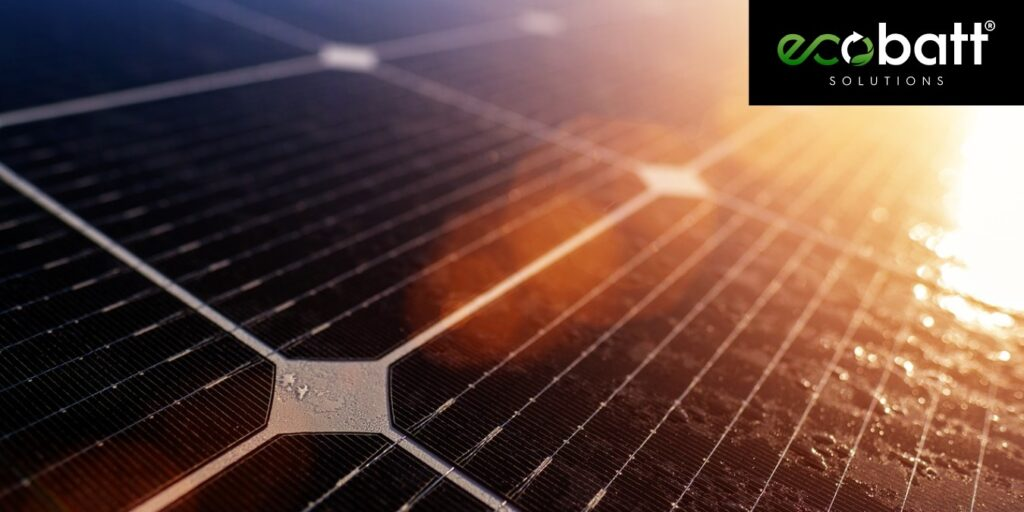 what are solar panels made of